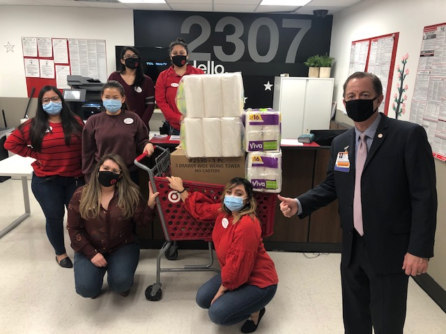 hospital staff in-kind donation