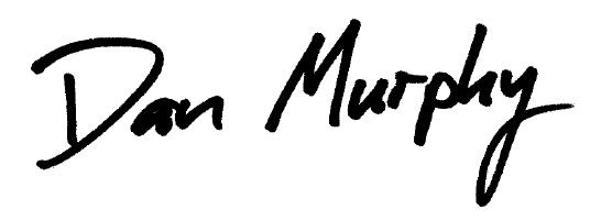 Signature by Dan Murphy, CPO