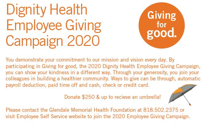 Employee Giving Info - Glendale Memorial Health Foundation ...