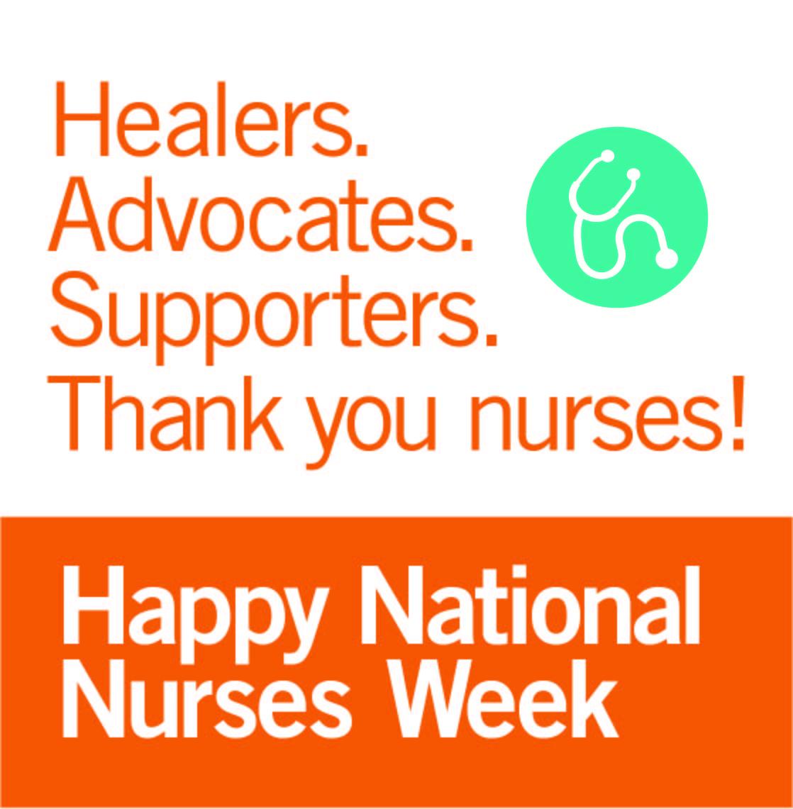 Happy National Nurses Week Imafe